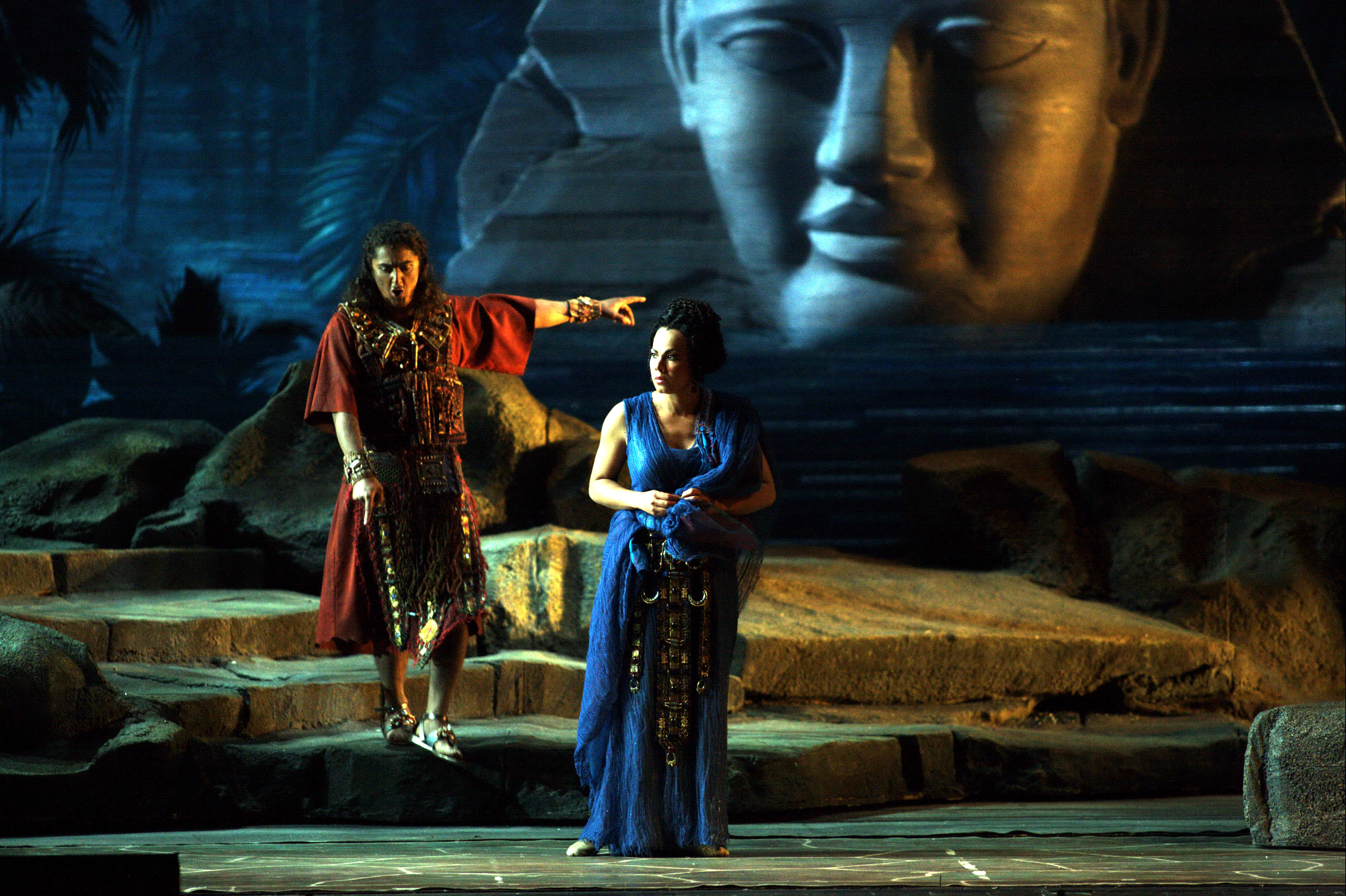Aida, Scala